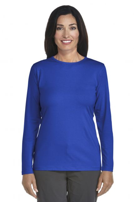 UV Long-Sleeve T-Shirt - royal cobalt - Front