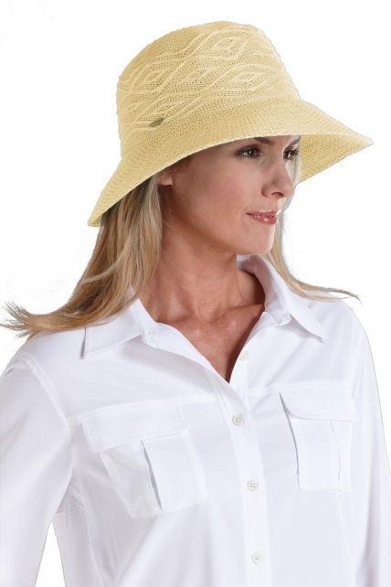 Coolibar---Packable-UV-Beach-Bucket-Hat---Beige
