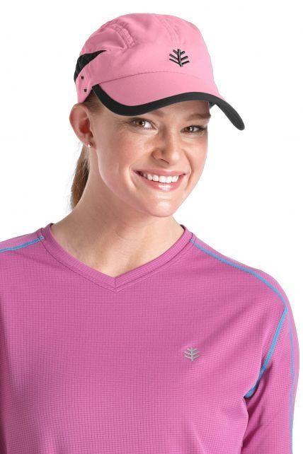 Coolibar---Sun-Breaker-Running-Cap--Pink