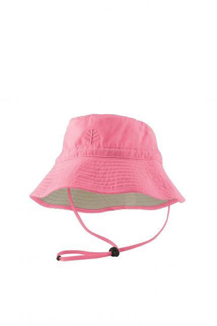 Coolibar---UPF-50+-Toddler-Chin-Strap-Sun-Hat--Pink