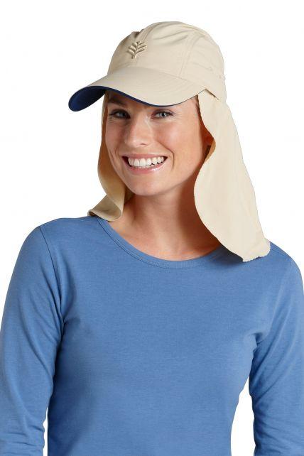 Coolibar---Super-Sport-UV-Hat---Grey