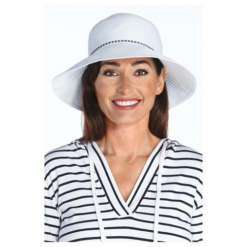 Coolibar---UV-bucket-hat-for-women---White