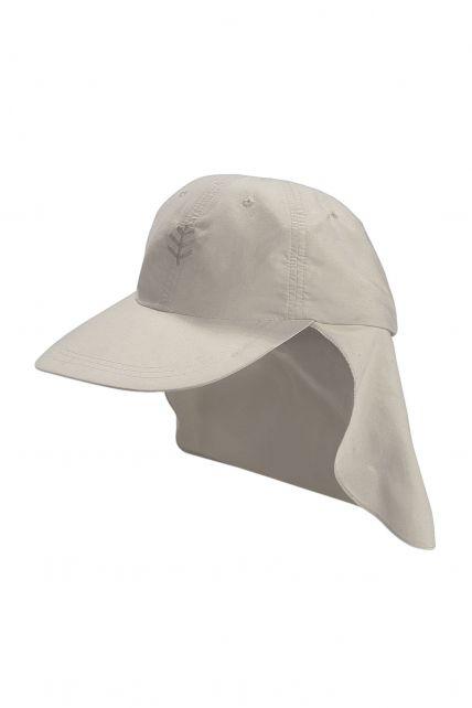 Coolibar---UPF-50+-Child-All-Sport-Flap-Sun-Hat--Beige