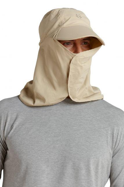 Coolibar---Ultra-UV-Sport-Hat---Beige