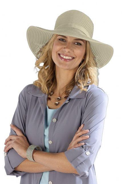 Coolibar---Shapeable-Travel-UV-Sun-Hat---Beige