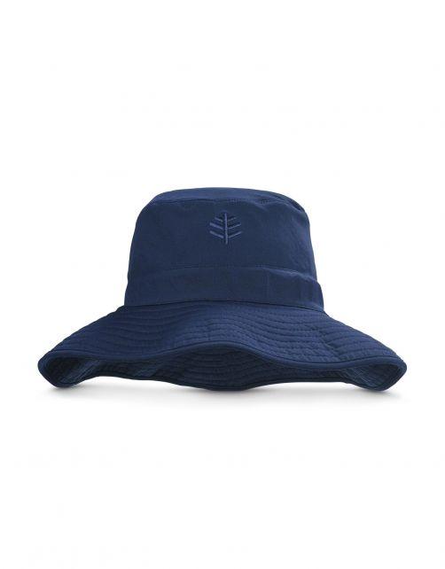Coolibar---Chlorine-resistant-UV-Bucket-Hat-for-men---Nate-CR---Navy