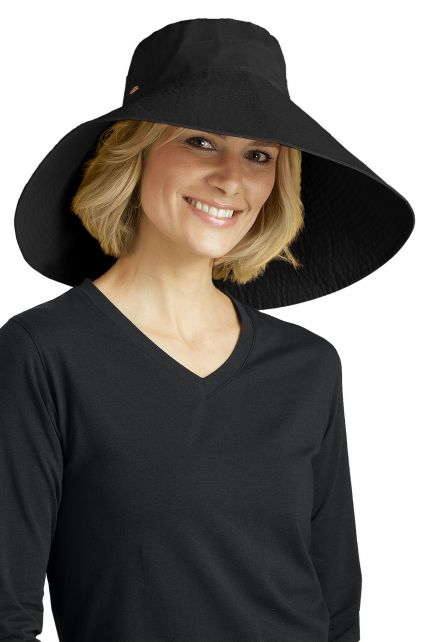 Coolibar---Beach-UV-Sun-hat---Black