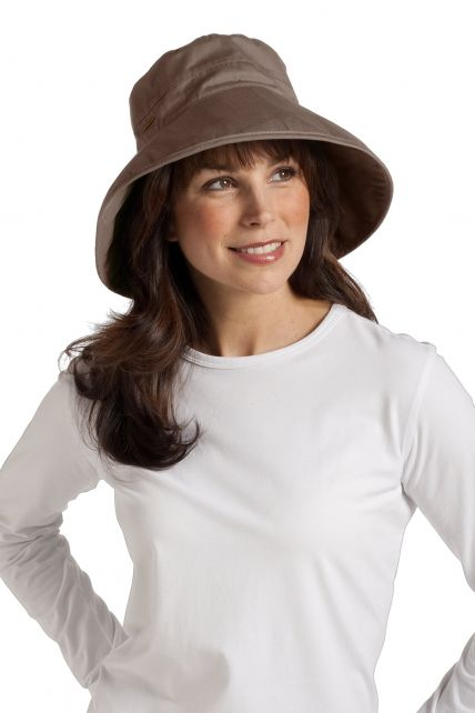 Coolibar - Everyday Cotton UV Hat - Mushroom - 0