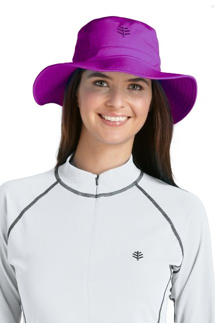 Coolibar---Chlorine-Resistant-UV-Bucket-Hat---Purple