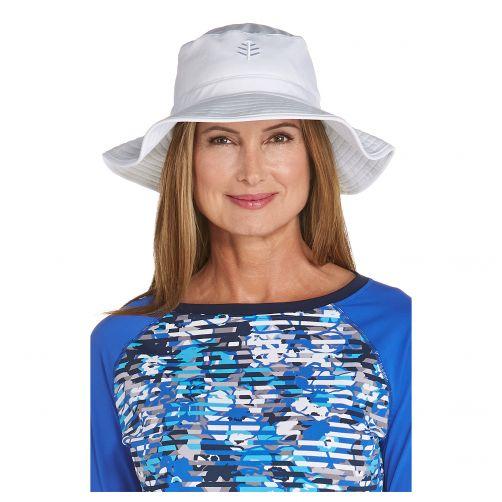 Coolibar---UV-floppy-hat-for-women---White
