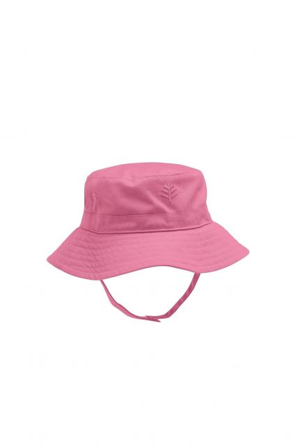 Coolibar---UPF-50+-Baby-Girl's-Chin-Strap-Hat---Pink