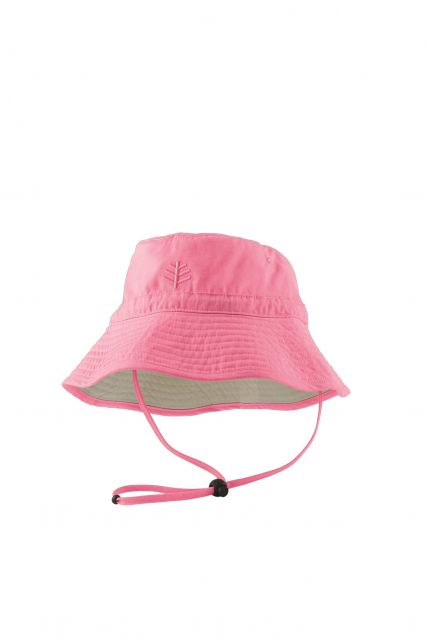 Coolibar---UPF-50+-Toddler-Chin-Strap-Sun-Hat--Pink
