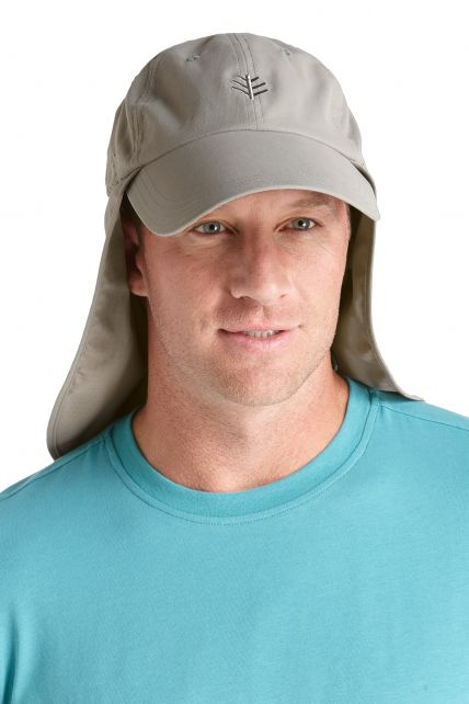 Coolibar---Stay-Put-Fishing-Cap---Grey/night