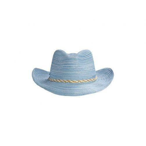 Coolibar - UPF 50+ cowboy Sun Hat- blue - 0
