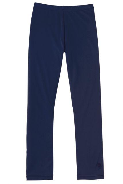 Coolibar - UV girls swim tights - Blue - 0