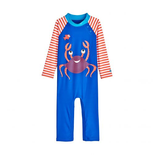 Coolibar - UV swimsuit for babies - Cute Crustacean - Front