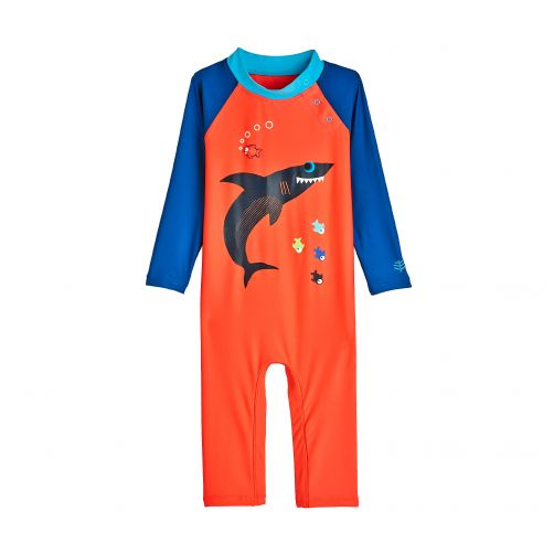 Coolibar - UV swimsuit for babies - Sneaky Shark - Front