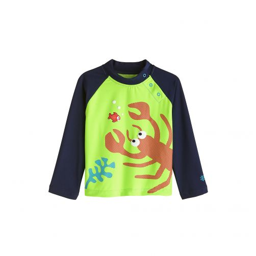 Coolibar - UV swim shirt for babies - Living la vida Lobster - Front