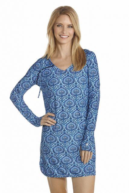 Coolibar---UV-Swimdress-women---Blue