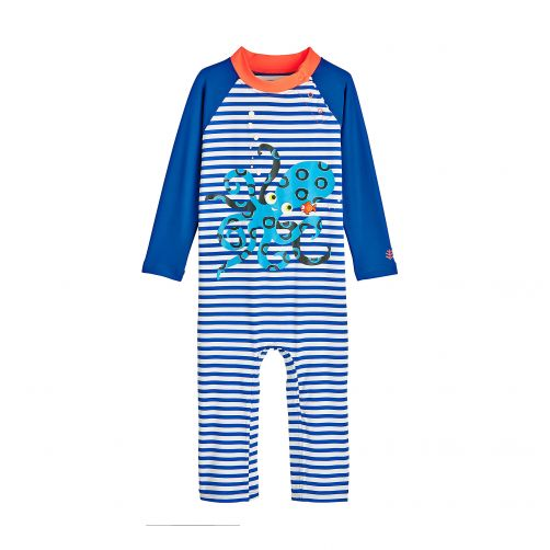 Coolibar - UV swimsuit for babies - Octo Cutie Pie - Front