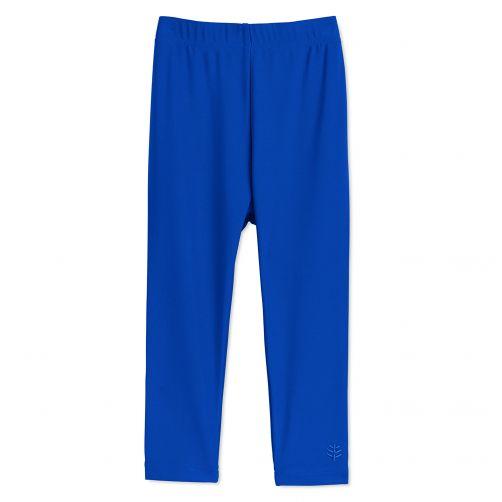 Coolibar - UV swim leggings for babies - Blue wave - Front