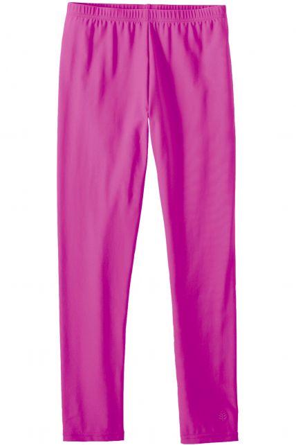 Coolibar - Girls swim tights - Pretty Pink - 0