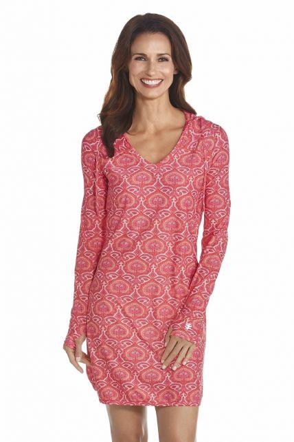 Coolibar---UV-Swimdress-women---Pink