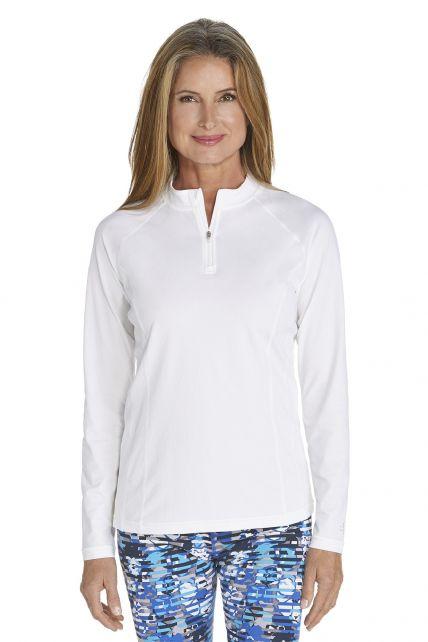 Coolibar---UV-Swim-shirt-long-sleeve-women---White