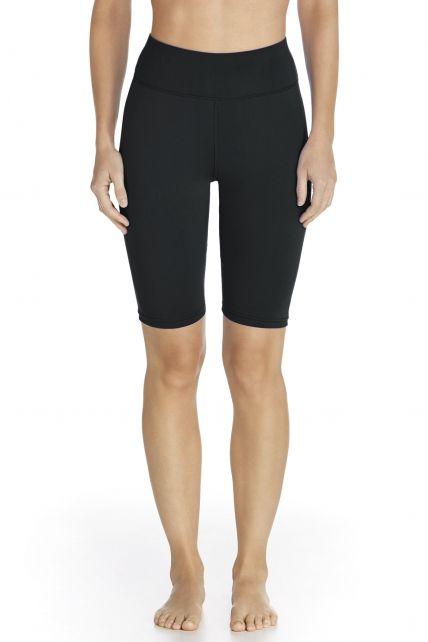 Coolibar---Active-UV-Swim-Short---black