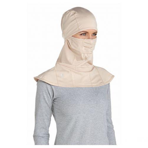 Coolibar---UV-sun-mask-unisex--Beige
