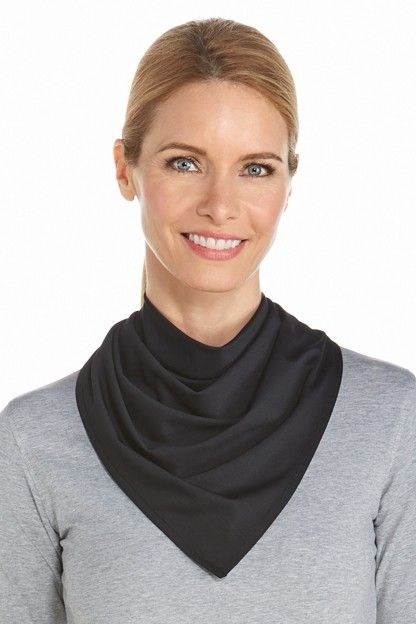 Coolibar---UV-resistant-bandana---Black