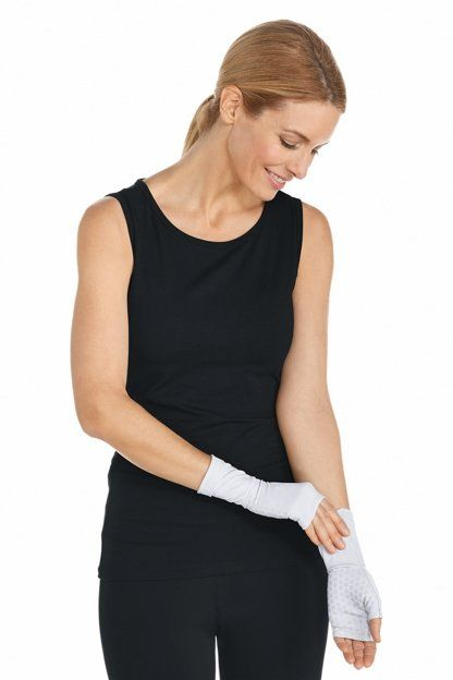 Coolibar---UV-Protection-Sleeves-for-adults---San-Gorgonio---White