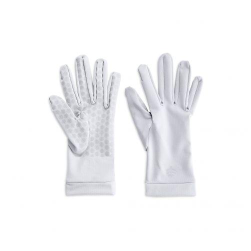 Coolibar---UV-sun-gloves-unisex--White
