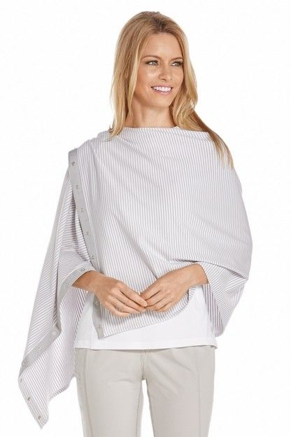 Coolibar---UV-resistant-convertible-shawl---Striped
