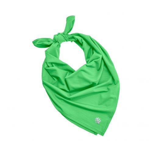 Coolibar---UV-resistant-bandana---Light-Green