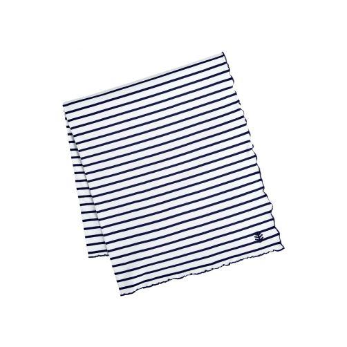 Coolibar---UV-blanket-for-women,-men,-kids-and-babies---navy/white-striped