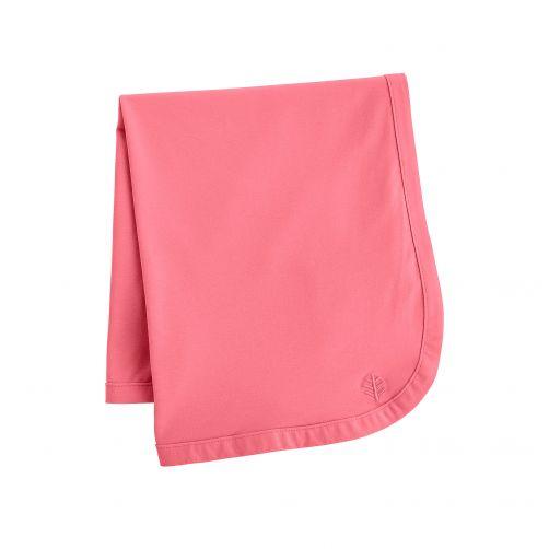 Coolibar---UV-blanket-for-babies---pink