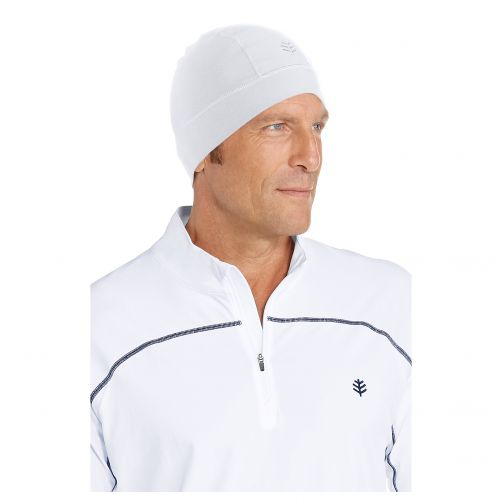 Coolibar---UV-swim-cap-unisex--White