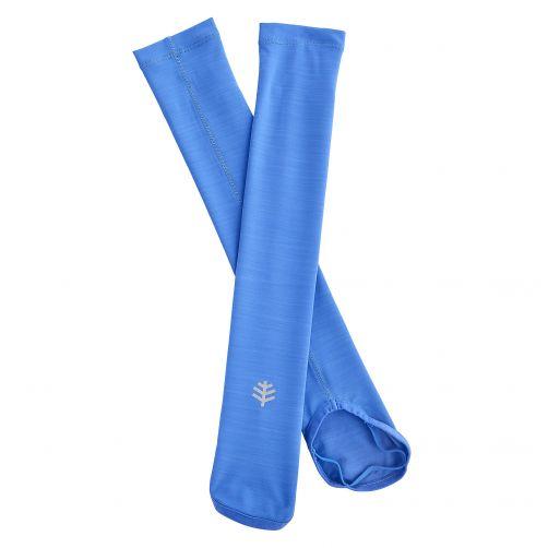 Coolibar---UV-performance-sleeves-for-kids---blue