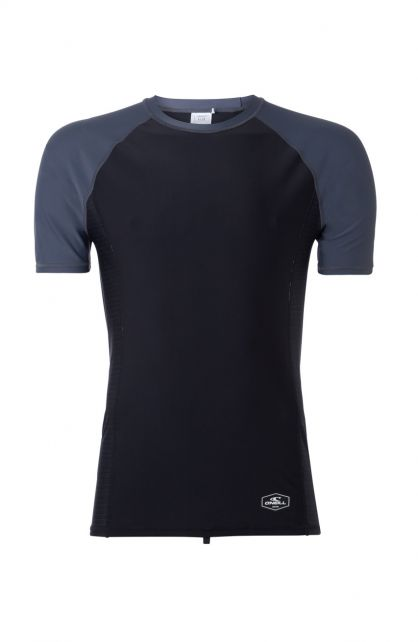 O'Neill---Men's-UV-shirt-with-short-sleeves---Print---Black-Out