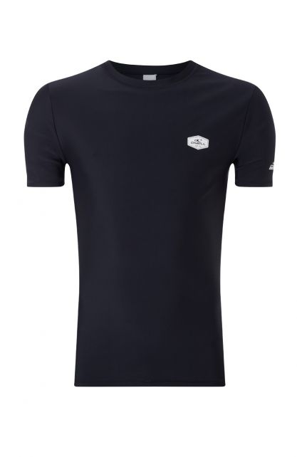 O'Neill---Men's-UV-shirt-with-short-sleeves---Essential---Black-Out