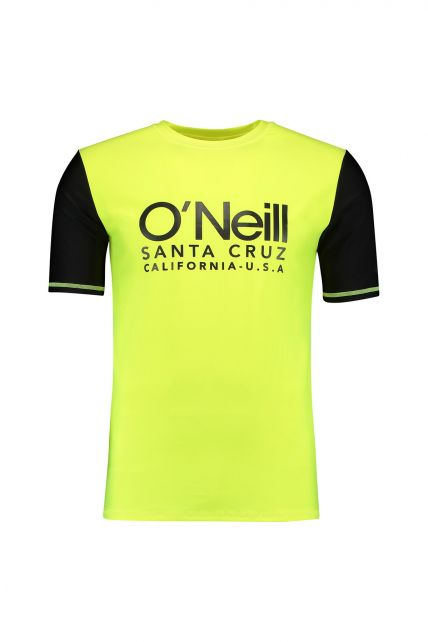 O'Neill---Men's-UV-shirt-with-short-sleeves---Cali---New-Safety-Yellow