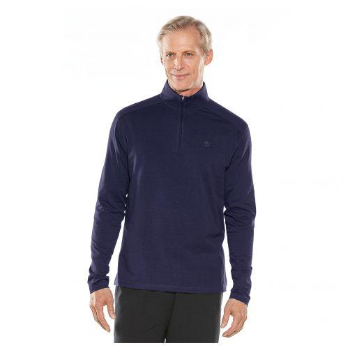 Coolibar---UV-shirt-for-men---dark-blue