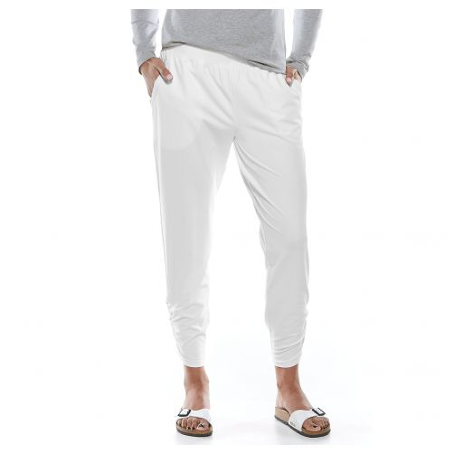 Coolibar---UV-pants-for-ladies---white
