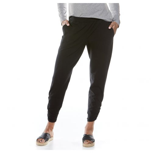Coolibar---UV-pants-for-ladies---black