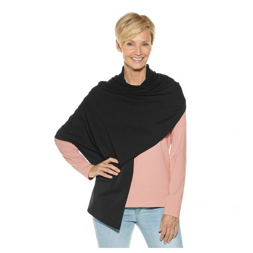 Coolibar---UV-sun-shawl-for-ladies---black