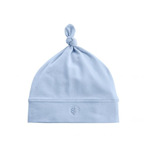 Coolibar---UV-baby-beanie-hat---light-blue