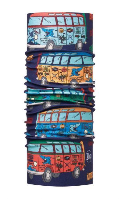 Buff---Kids'-UV-tube-scarf---Surf-Traveller---Dark-Navy