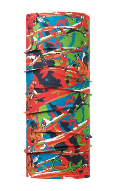 Buff---UV-tube-scarf-for-kids---Wildness---Multi
