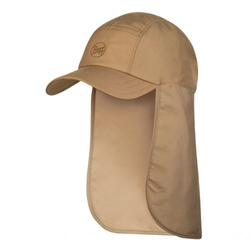 Buff---Bimini-UV-cap-with-neck-flap---Toffee---Light-Brown